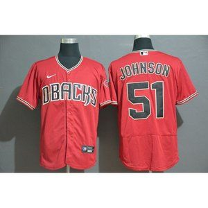 Arizona Diamondbacks Randy Johnson Red Jersey